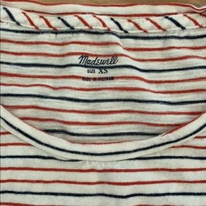 Madewell Tops - Madewell Striped Tee